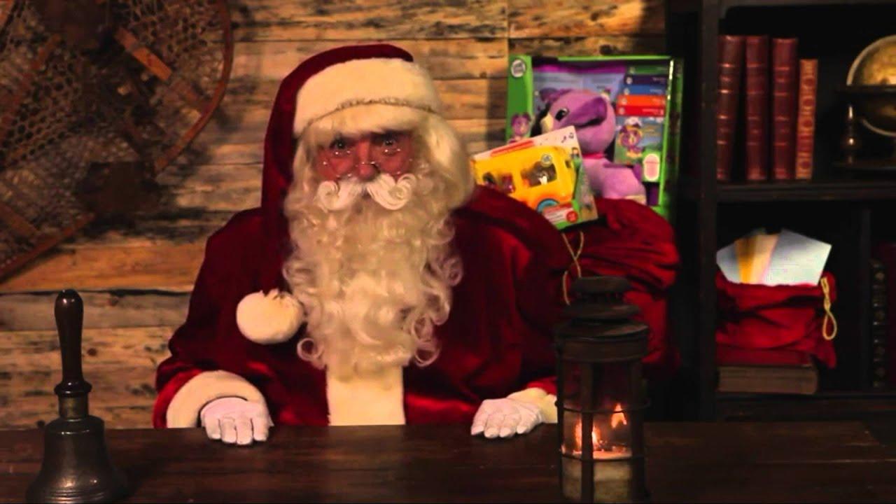 felicitacion papa noel a matas youtube - Navidades Asombrosas