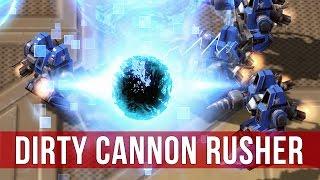 StarCraft 2: Legacy of the Void - Terran vs Protoss Cannon Rush!