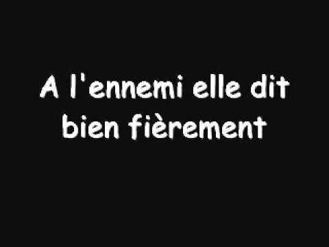 La Strasbourgeoise - Chant militaire français