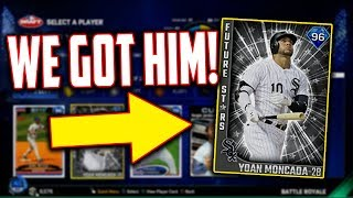 WE DRAFTED THE NEW 96 YOAN MONCADA FUTURE STARS CARD! MLB The Show 17 | Battle Royale
