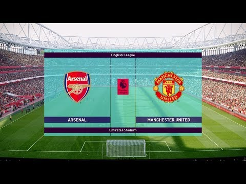 Arsenal vs Manchester United - EPL 10 March 2019 Gameplay