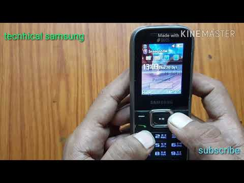 How to samsung E1232b phone lock removed