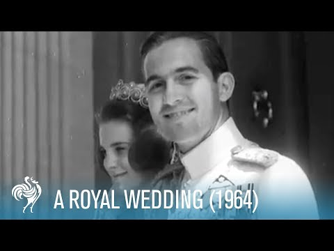 The Royal Wedding of King Constantine II & Princess Anne Marie (1964) | British Pathé