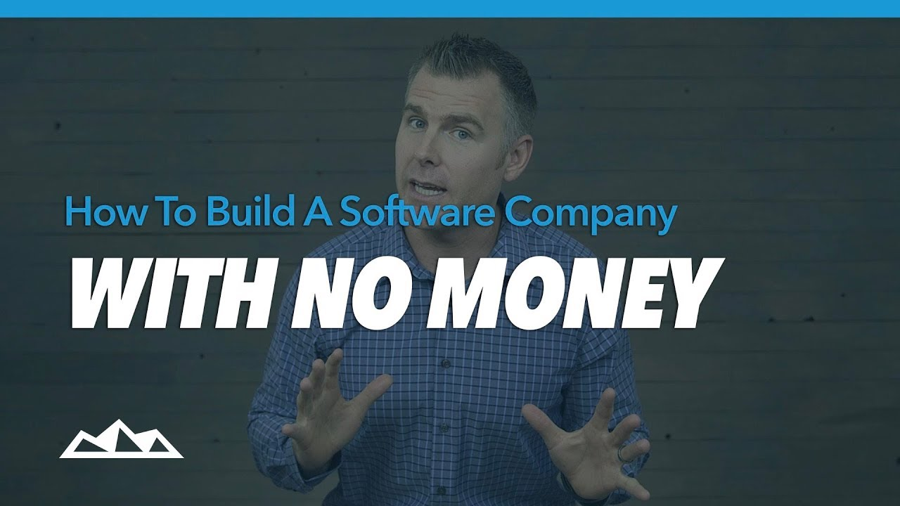 How To Build a Software Company With No Money | Future Timeline