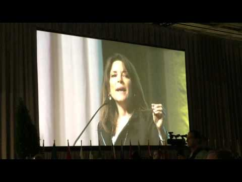 Marianne Williamson at the Parliament of World Religions October 16, 2015!