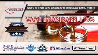 iRacing S18 Pitimet Truck Series - Race 5. Vaahterasiirappi 110% @ Canadian Tire Motorsports Park