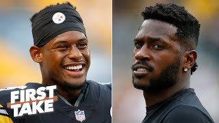 JuJu Smith-Schuster will have a better 2019 NFL season than Antonio Brown - Stephen A. | First Take