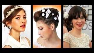 Kratke frizure za vjenčanje