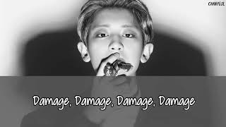 EXO - Damage + Picture coded [English subs/Romanization/Hangul]