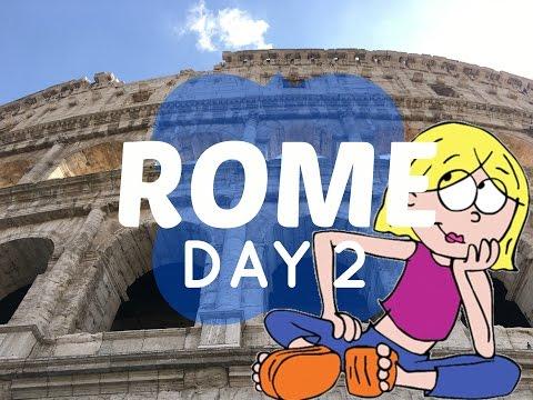 Meeting a Roman Model (Cinecitta, Piazza Venezia, Colosseum) Rome Day 2 // Italy Travel Vlog 2017