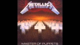 Metallica - Master of puppets (bass backing track) HD