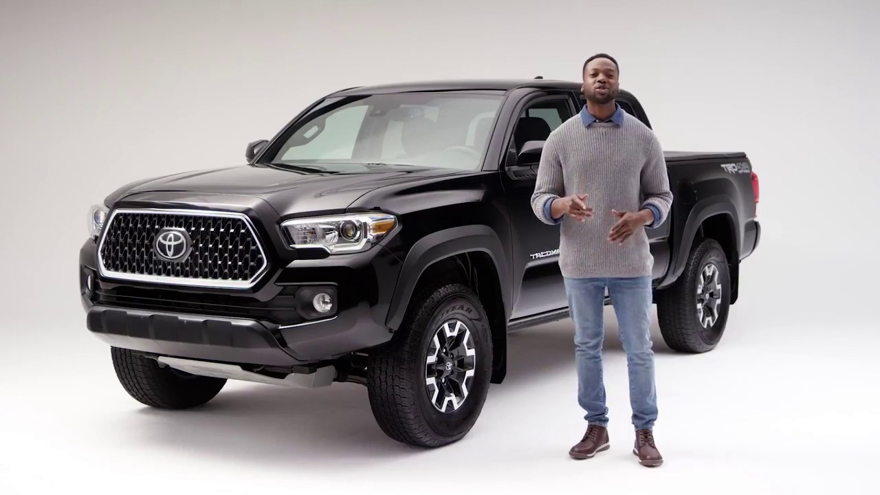 2018 Toyota Tacoma Vs Canyon Colorado