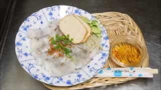 Cách Hấp Bánh Cuốn mini đơn giản không cần khuôn How to make mini roll rice cake without mold