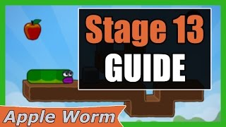 Apple Worm Level 13 Guide