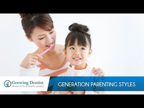 Generation Parenting Styles : Growing Dentist : Claudia Lovato:  Continuing Education Dental