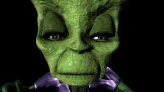 Dan Dare: 2002 CG cartoon-TV - Serie- komischen screen-test von der Mekon sprechen