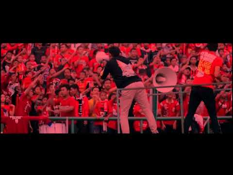 (KING OF CHANT THE JAKMANIA) SUPPORTER DI INDONESIA YANG MENGGUNAKAN CHANT (LAGU) THE JAKMANIA!!!