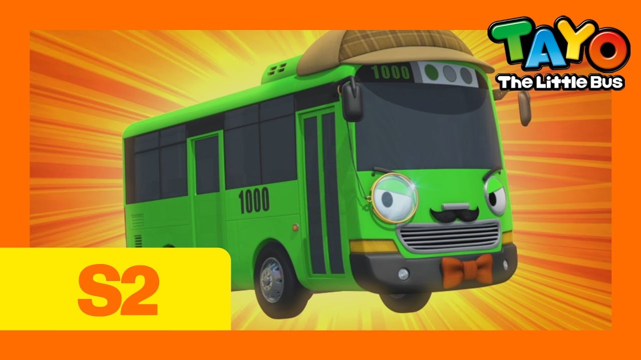 Download Tayo S2 EP10 Rogi the Detective l Tayo the Little Bus