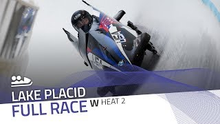 Lake Placid | BMW IBSF World Cup 2018/2019 - Women's Bobsleigh Heat 2 | IBSF Official