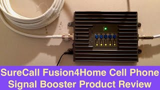 SureCall Fusion4Home Cell Phone Signal Booster Product Review