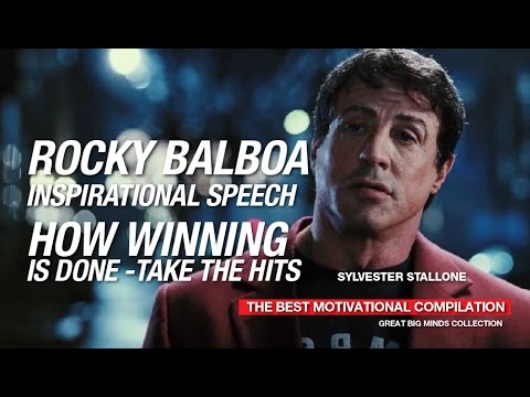 Rocky Balboa S Inspirational Speech To Son How Winning Is