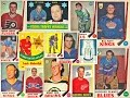 1969-70 O-Pee-Chee NHL Hockey Card Complete Collection