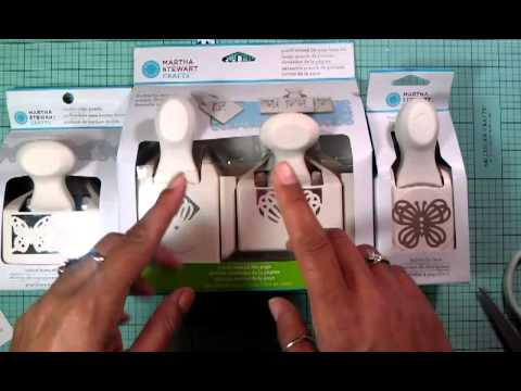 HSN OULET!!!!  Martha Stewart Paper Punches and JoAnn HAUL