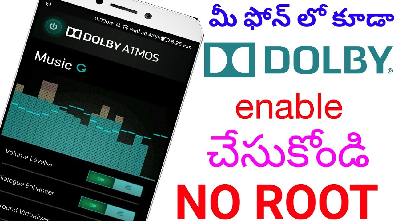 Dolby atmos apk xiaomi no root | How To Install Dolby Atmos On