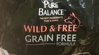 Walmart Dog Food Review Pure Balance Grain Free