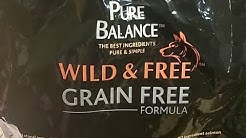 Walmart Dog Food Review Pure Balance Grain Free