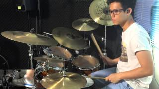 小伙子Supper Moment - Drum Cover by zhim