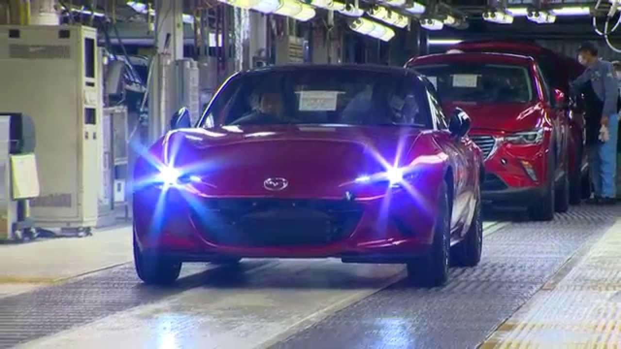 Mazda запустила серийное производство родстера MX-5