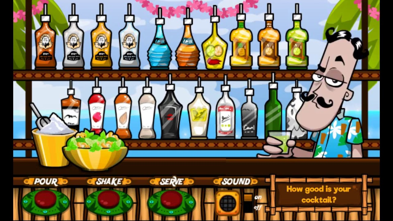 Làm thử nghề pha chế rượu