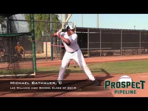 Michael Bathauer Prospect Video, C, Lee Williams High School Class of 2019