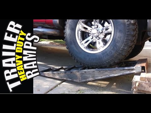Building Trailer Ramps heavy duty