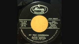 BROOK BENTON  MY TRUE CONFESSION