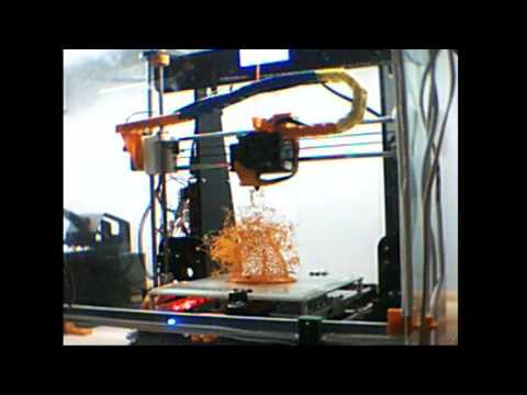 3D Printing Live Stream  Female body printing