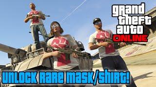 GTA 5 Online - Unlock RARE Mask & T-Shirt! (Double Money & RP Online)