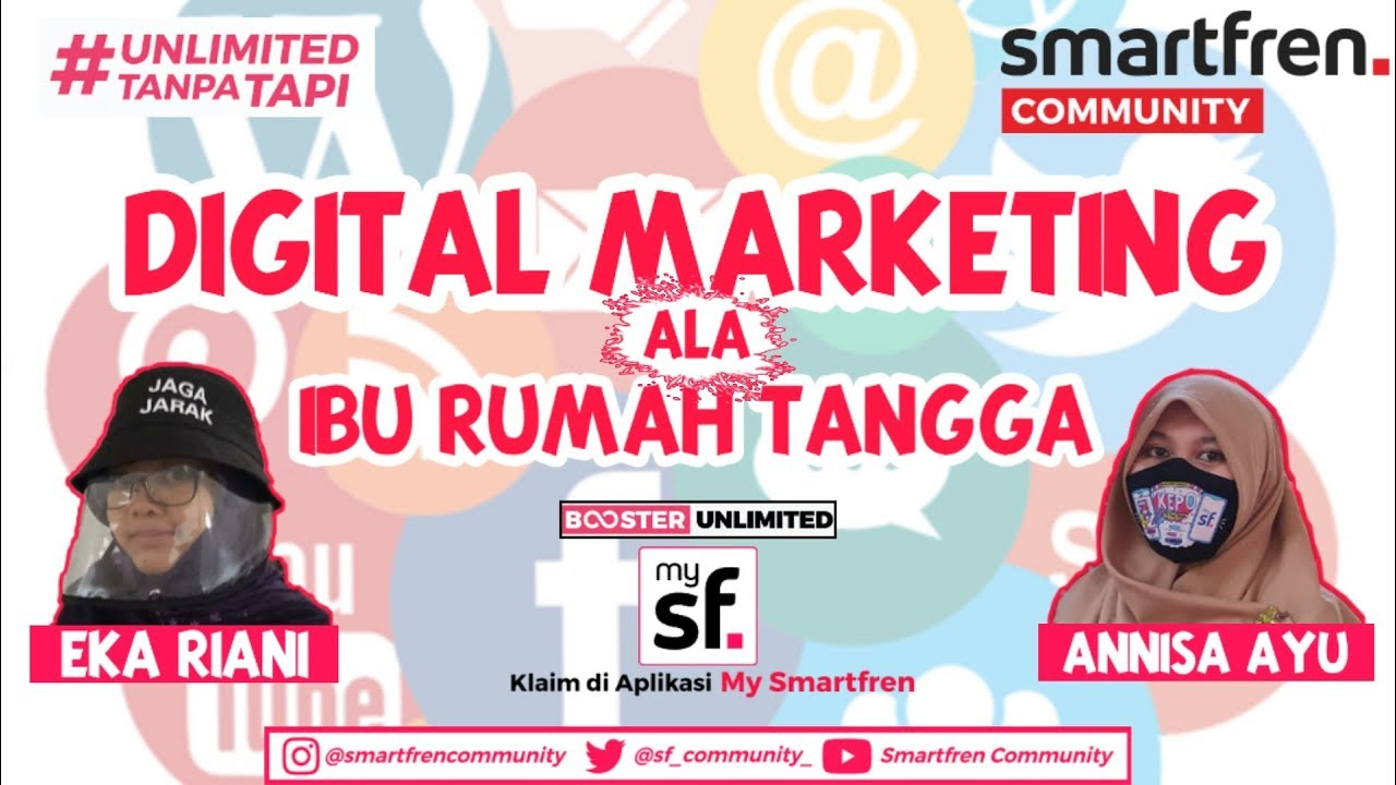 Digital Marketing Ala Ibu Rumah Tangga