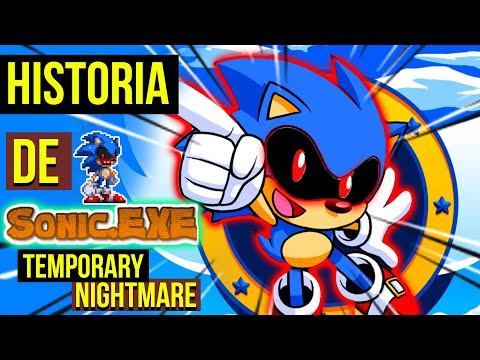 SONIC Vs MIGHT EXE 😈| Historia Sonic Exe TEMPORARY NIGHTMARE