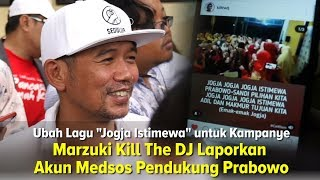 Marzuki Kill The DJ Laporkan Akun Medsos Pendukung Prabowo