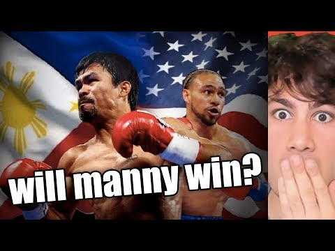 Manny Pacquiao vs Keith Thurman - A CLOSER LOOK Reaction