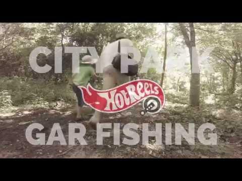 Gar Fishing City Park New Orleans