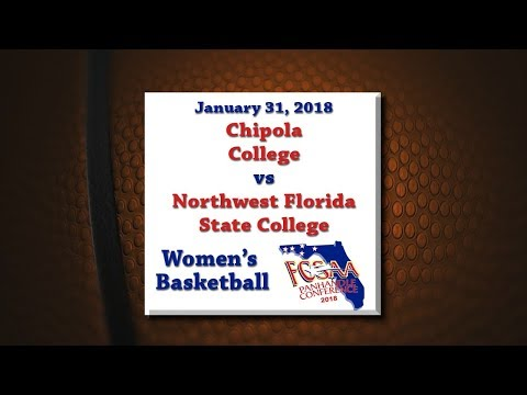 Panhandle Conference 2018 - Chipola @ NWFSC - January 31, 2018 - Women's Basketball