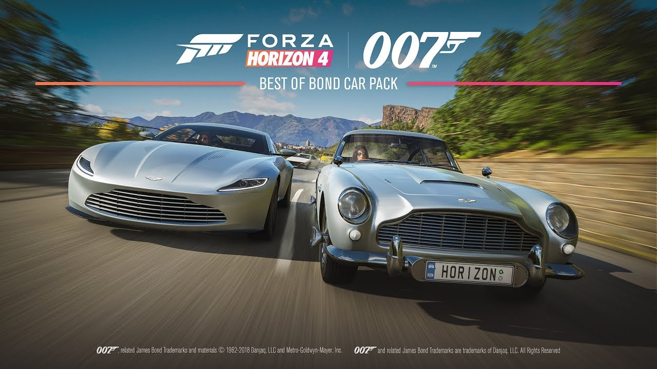 bond cars forza horizon 4 ultimate edition youtube. Black Bedroom Furniture Sets. Home Design Ideas