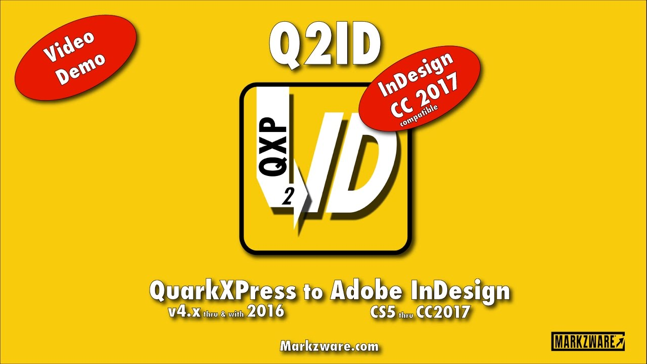 Q2ID for #InDesign #CC2017 is Online for Mac Subscribers - YouTube