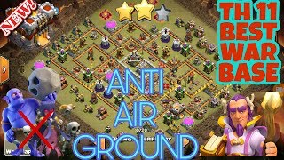 NEW TH11 (TOWN HALL 11) War Base Anti 3 Star | Th11 War Base Anti Everything | Th11 Best Base | COC