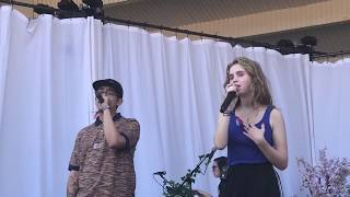 Drown - Clairo with Cuco at Lollapalooza 2018