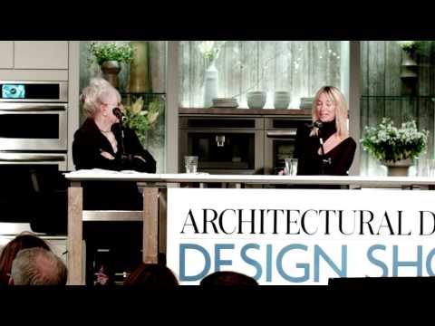 Katie Scott at the Architectural Digest Design Show