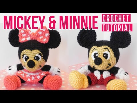 Crochet Mickey Mouse Ornament - Red Ted Art - Make crafting with ... | 360x480